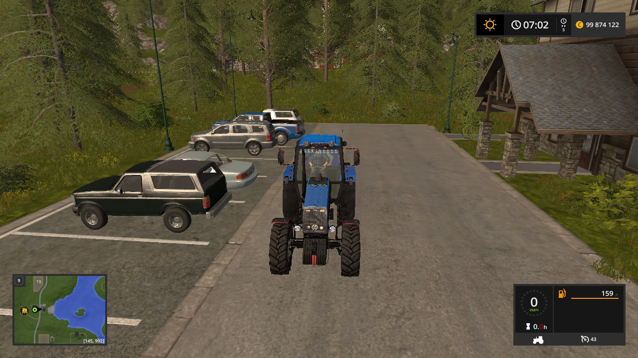 MTZ-1221 BELARUS BY CORAD60 - Farming Simulator 17 Мод, Транспорт