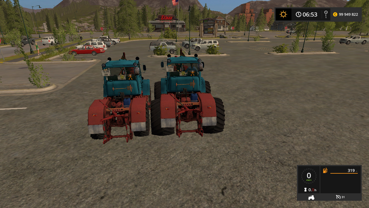 Трактор - Farming Simulator 17 Мод, Транспорт