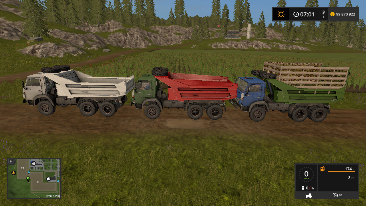 грузовик - Farming Simulator 17 Мод, Транспорт