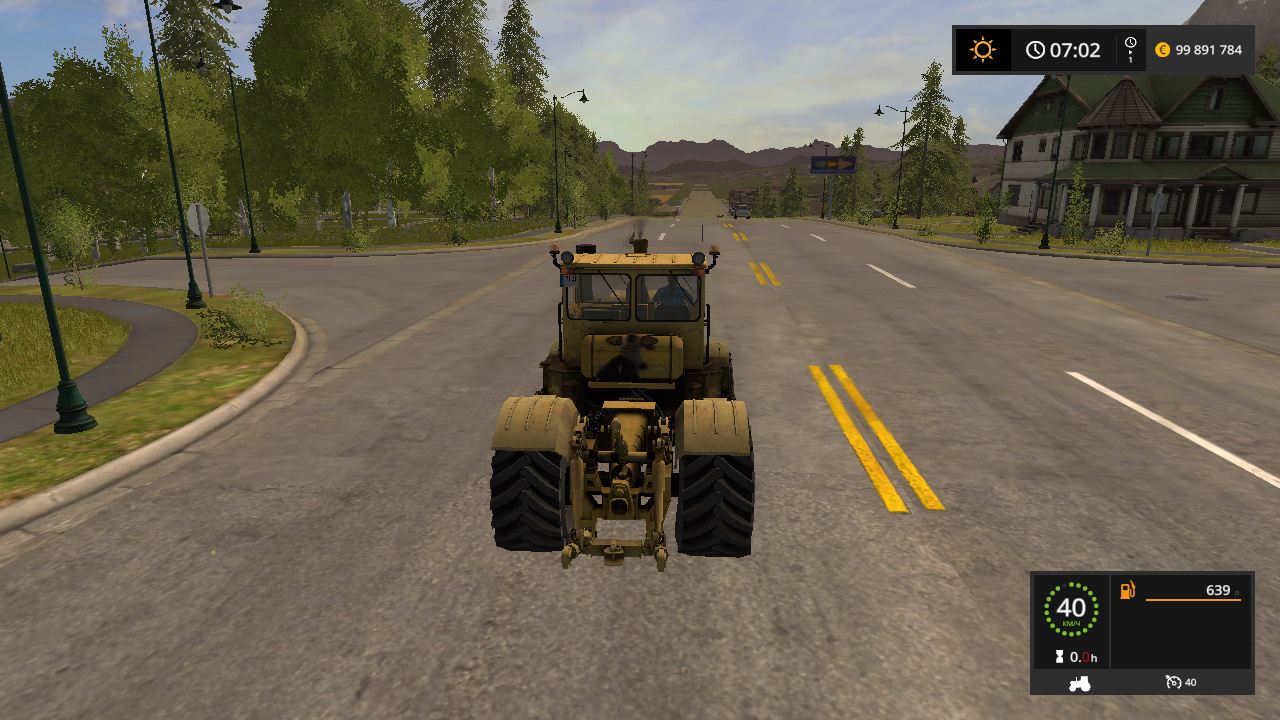 KIROVEC K700 EDIT TEOR V1.1 - Farming Simulator 17 Моды, трактор