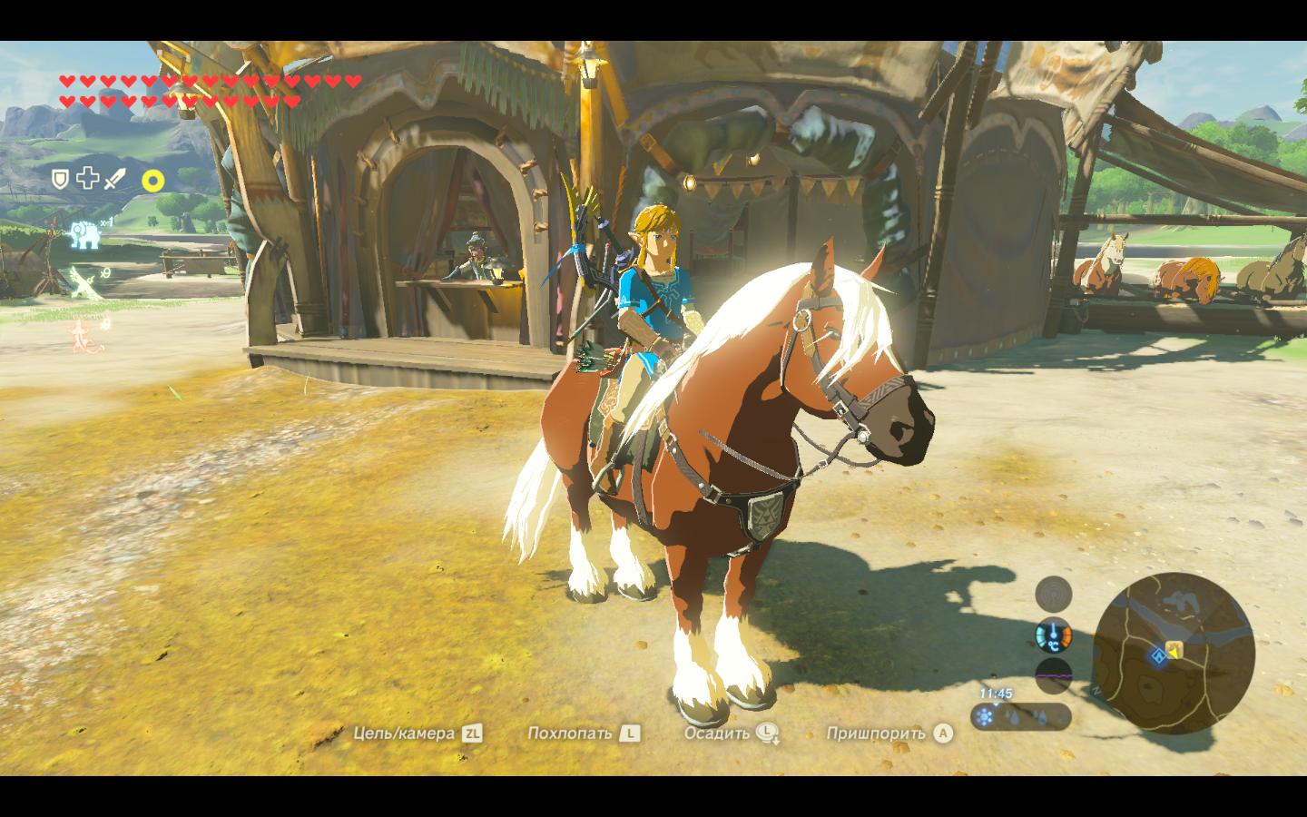 Линк на Эпоне - Legend of Zelda: Breath of the Wild, the