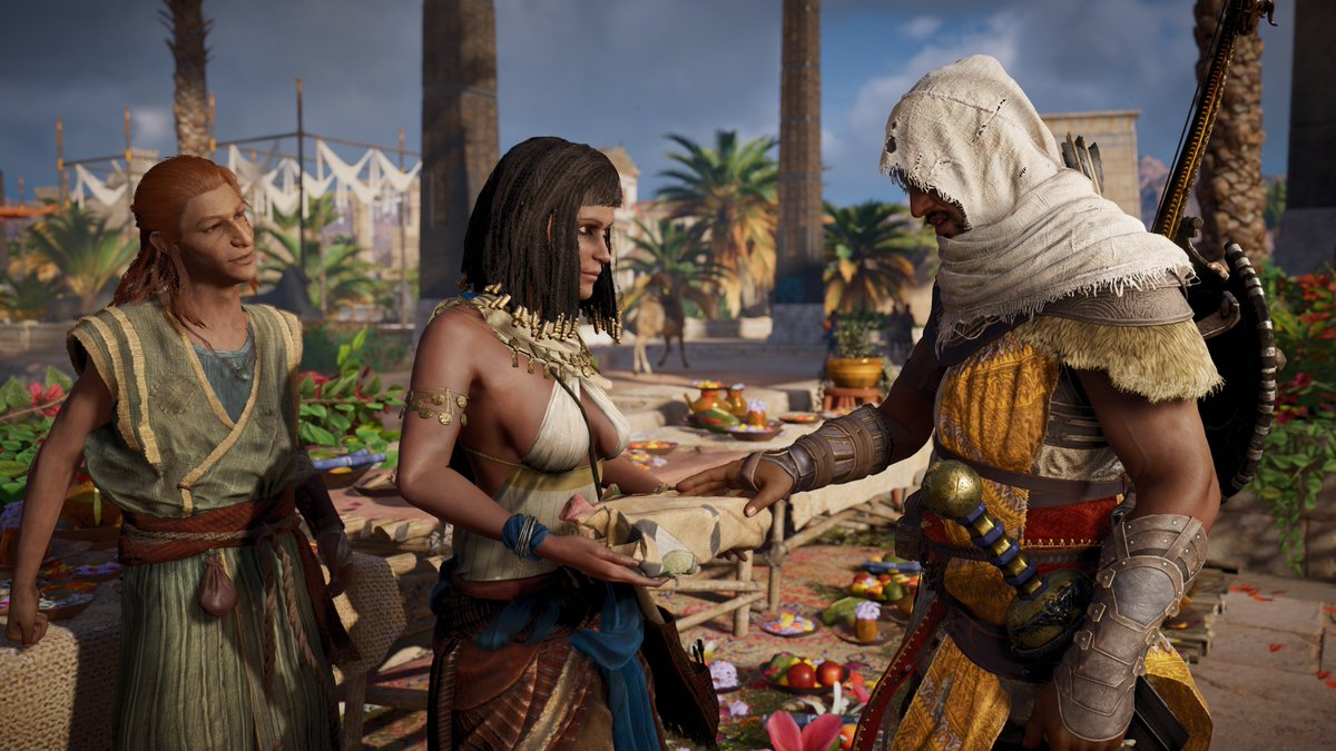Assassin's Creed: Origins - The Curse of the Pharaohs - Assassin's Creed: Origins DLC, Скриншот