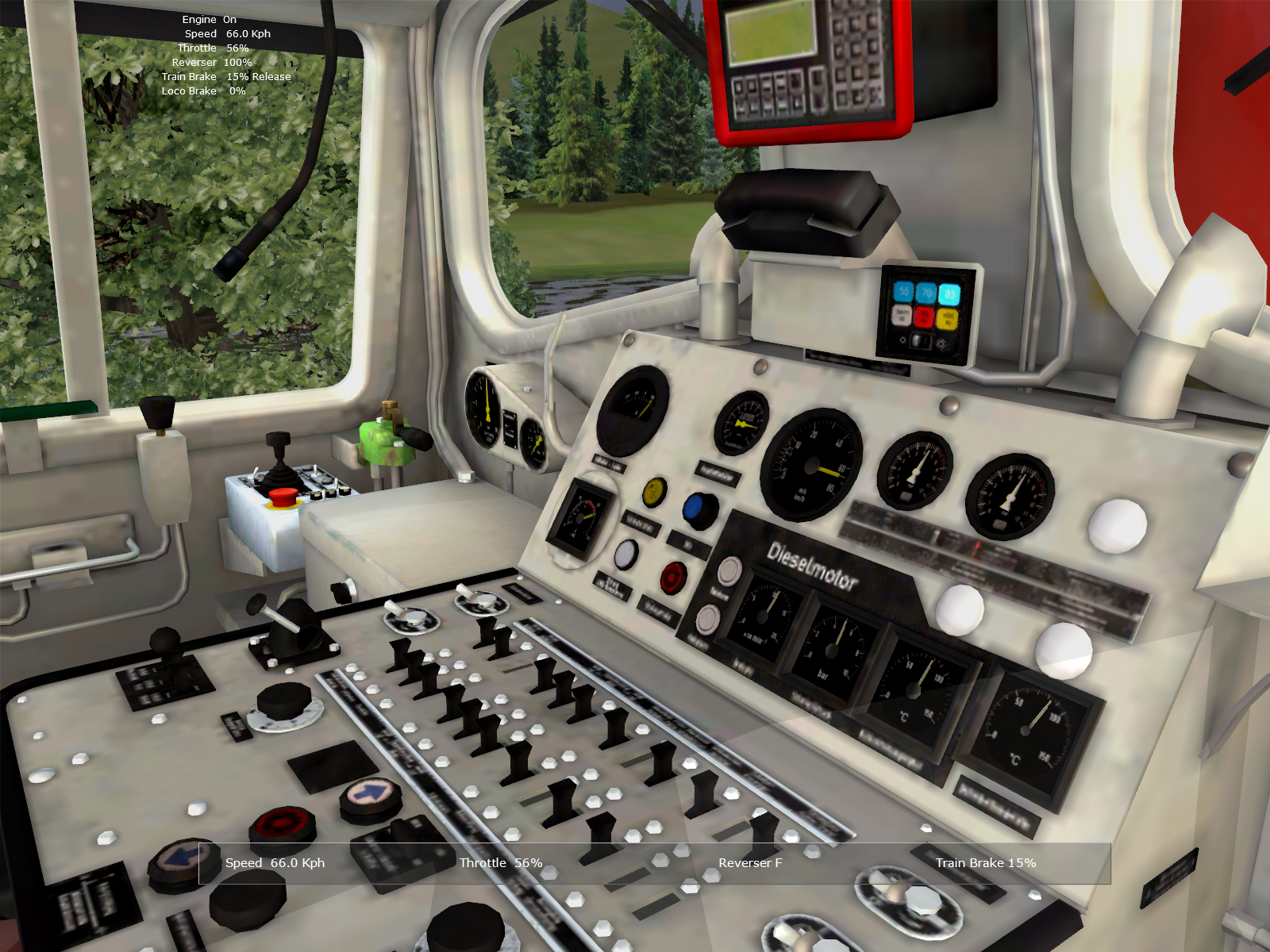 - - Rail Simulator Скриншот