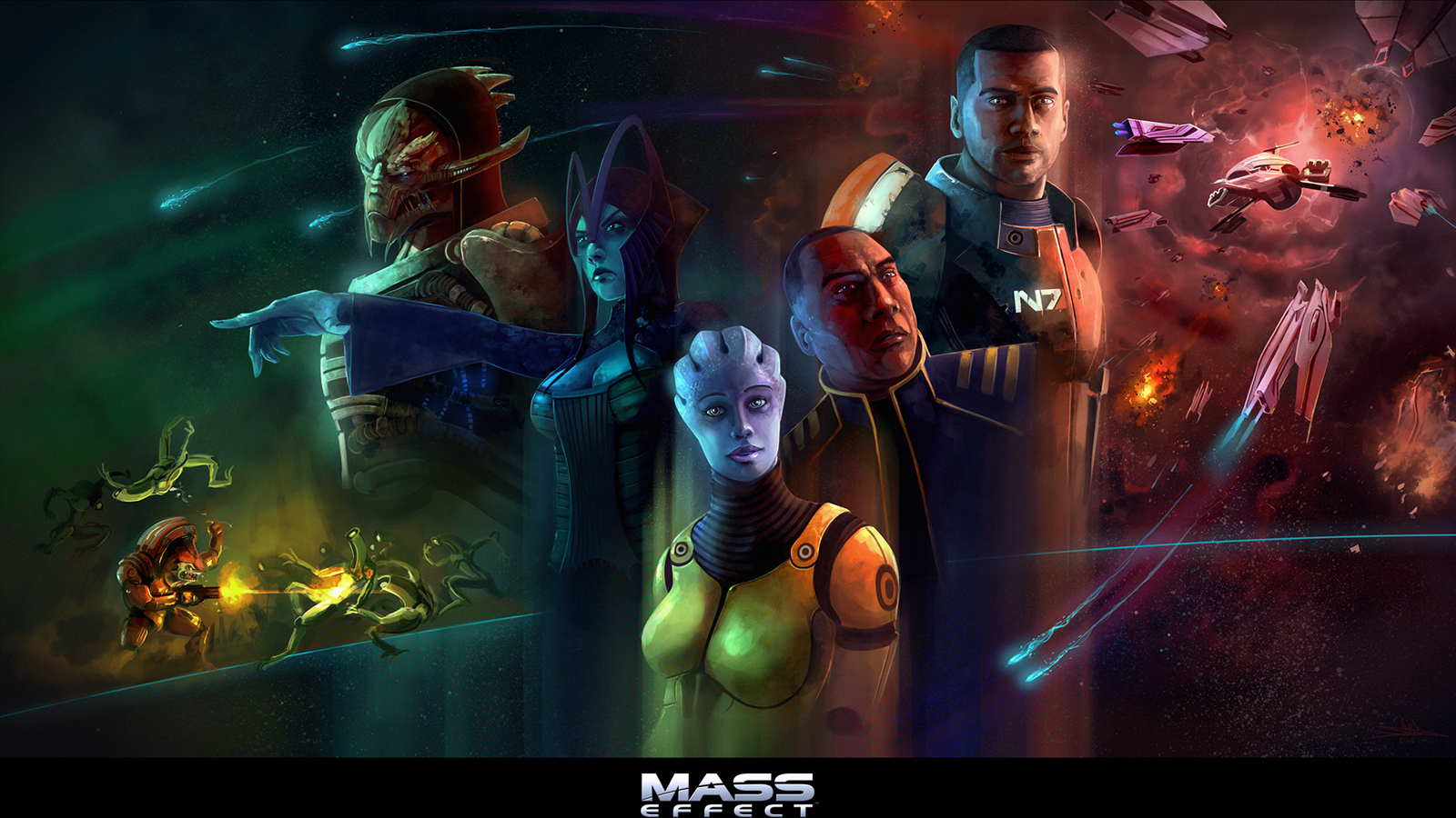 Art - Mass Effect Арт