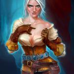 Witcher 3: Wild Hunt Цирилла