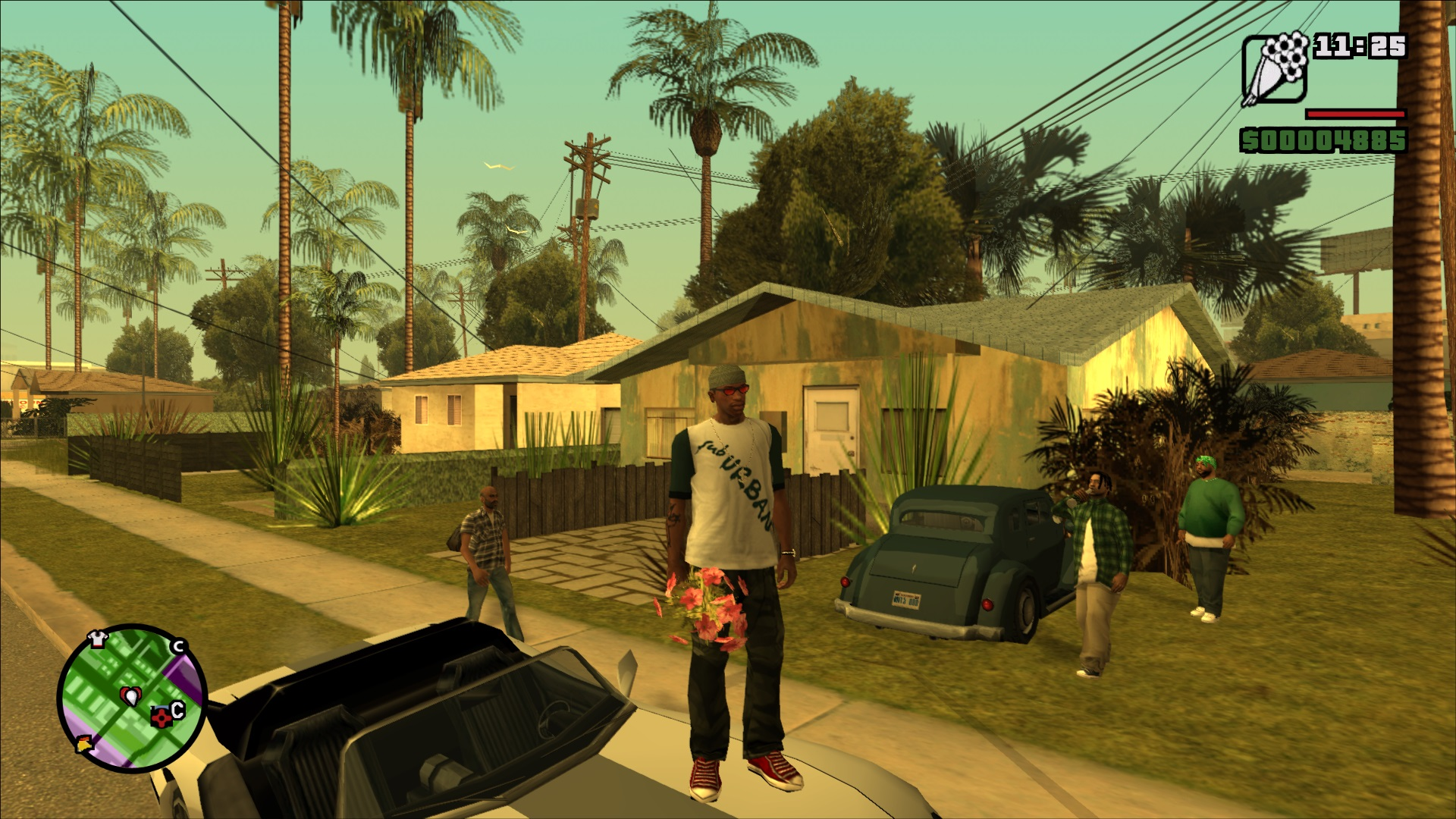 GTA San Andreas (mod - full screen and PS2 sun bloor) - Grand Theft Auto: San Andreas Моды