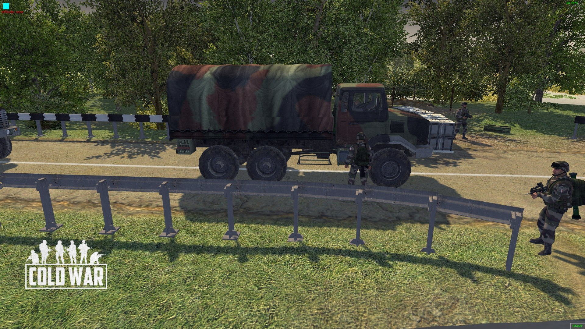 Cold War (Грузовик Renault Truck GBC 180) - Men of War: Assault Squad 2 Моды
