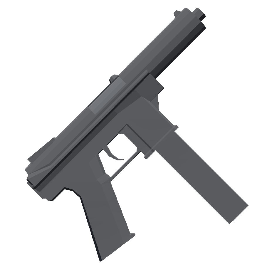 Tec-9 - Totally Accurate Battlegrounds Оружие, Скриншот