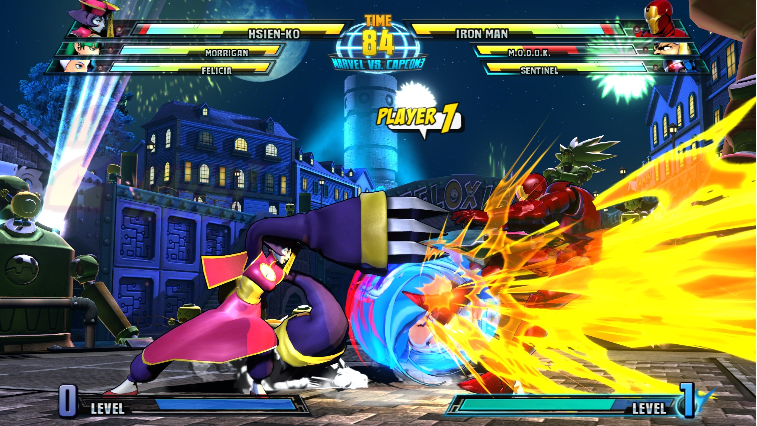 Marvel vs. Capcom 3: Fate of Two Worlds - Marvel vs. Capcom 3: Fate of Two Worlds 2K, Скриншот
