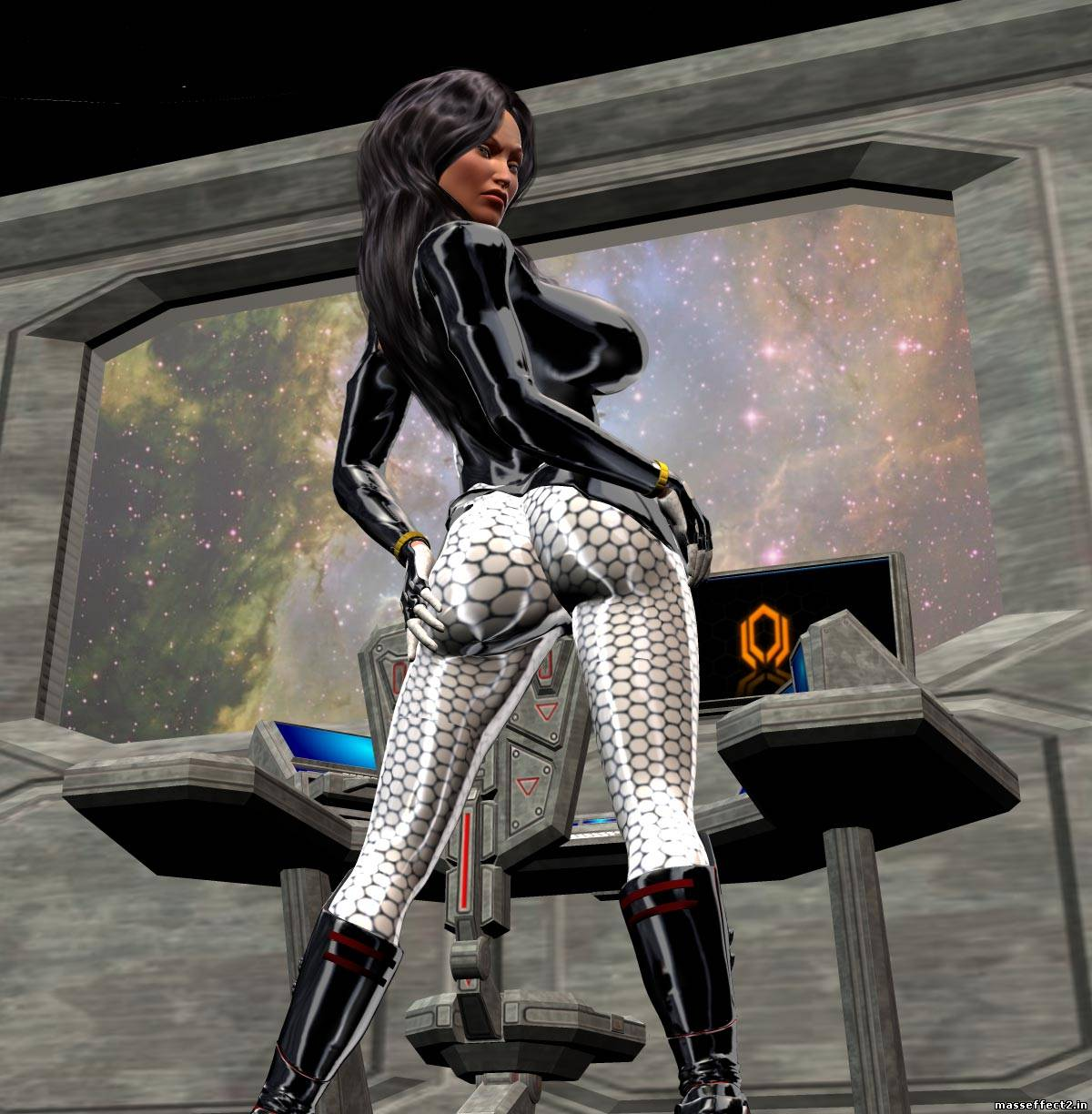 Sexy miranda s ass mass effect 2  softcore photo