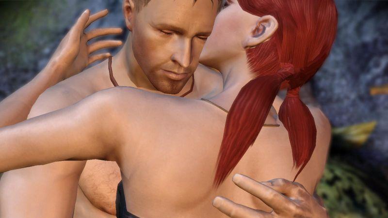 Порно мультики Dragon Age Origins оазис удовольствия