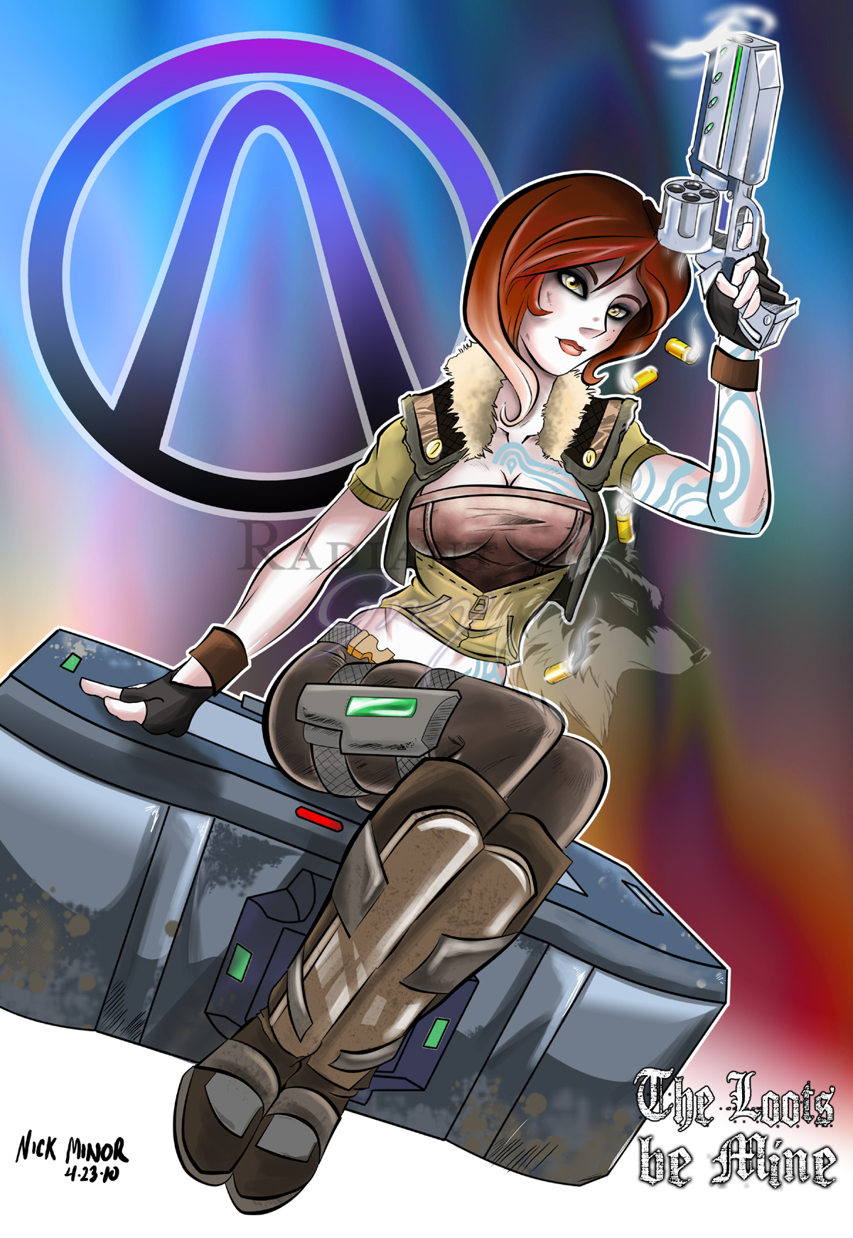 Lilith vore borderlands hentai image