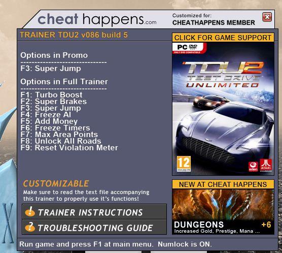 Как сделать много денег в игре test drive unlimited 2
