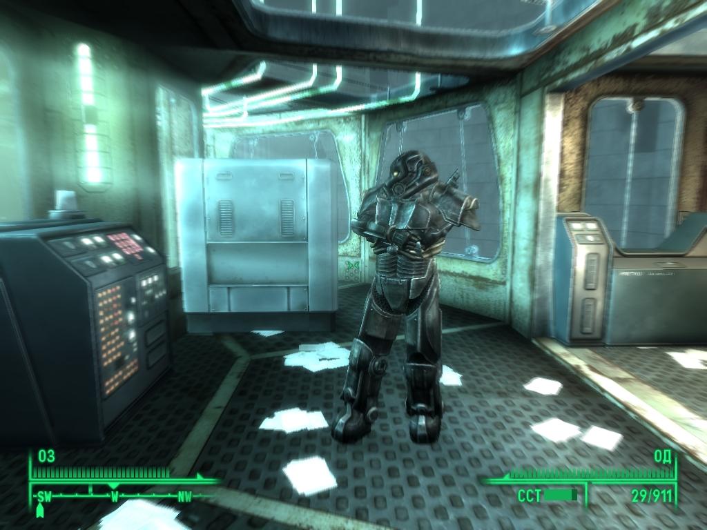 какой код на очистителе в fallout 3