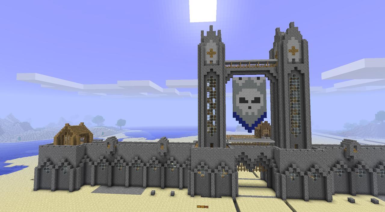 Как в майнкрафте 0.13.1 построить крутую башню для житья
