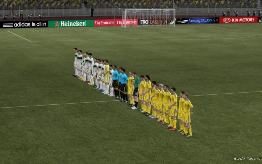 FIFA 12 Ukrainian national team patch beta - патч добавит в фифа 12 НАЦИОНА