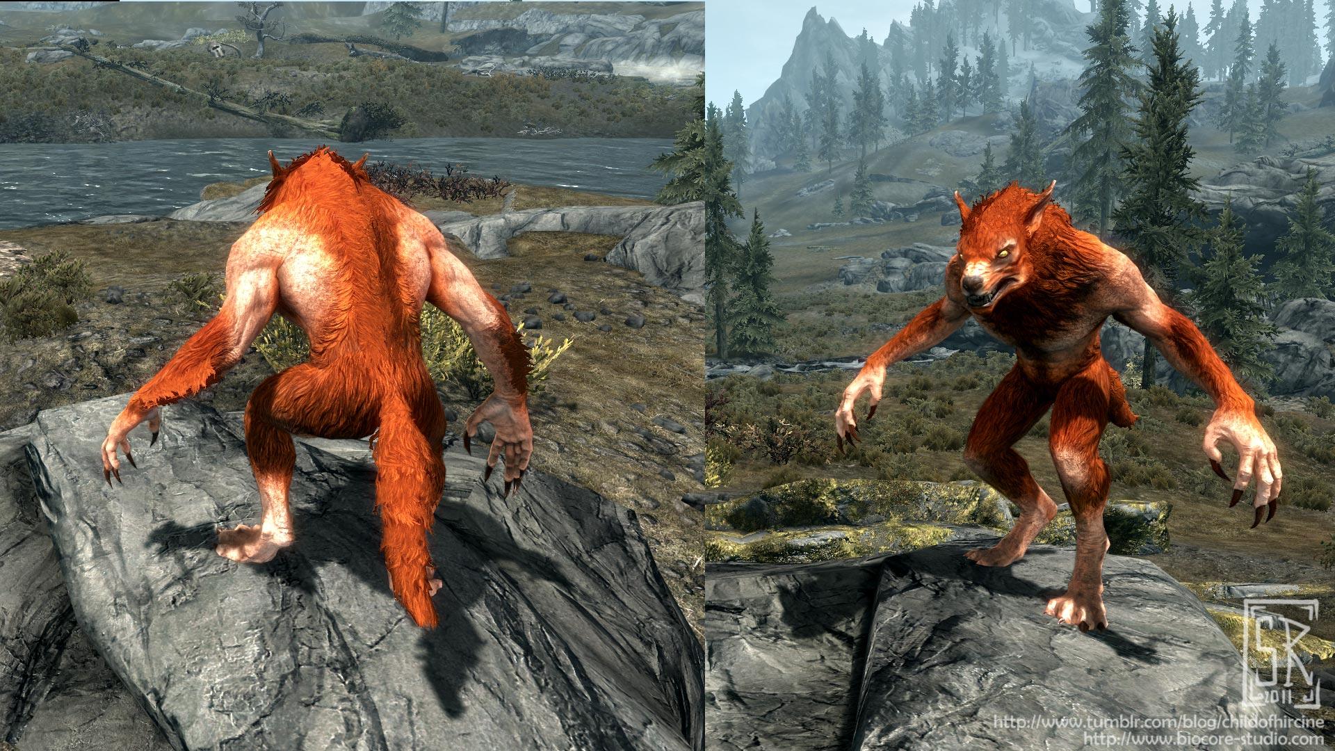 Как сделать так чтобы превращаться в волка