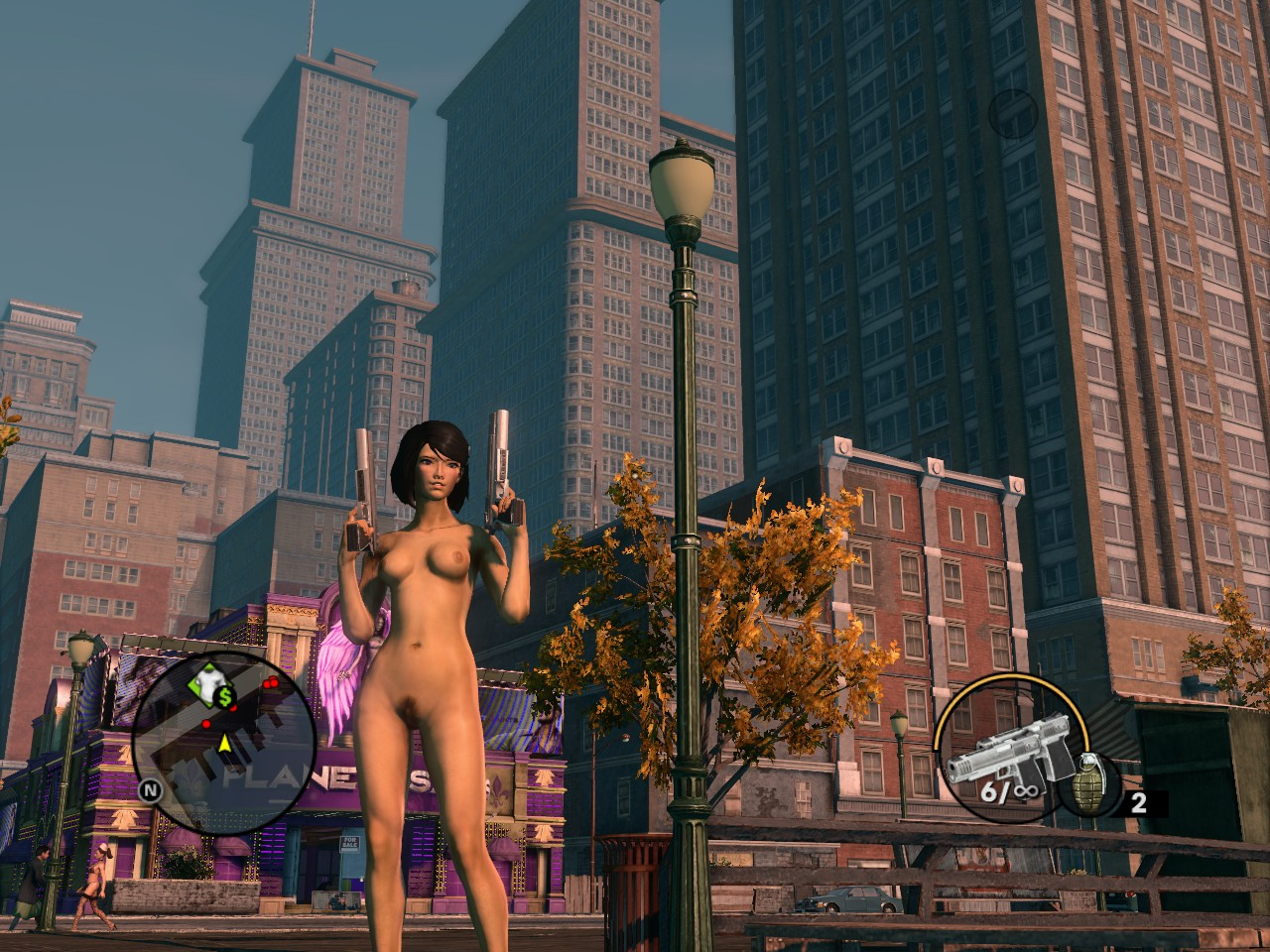 Saints row 4 nude mod download for  naked clips
