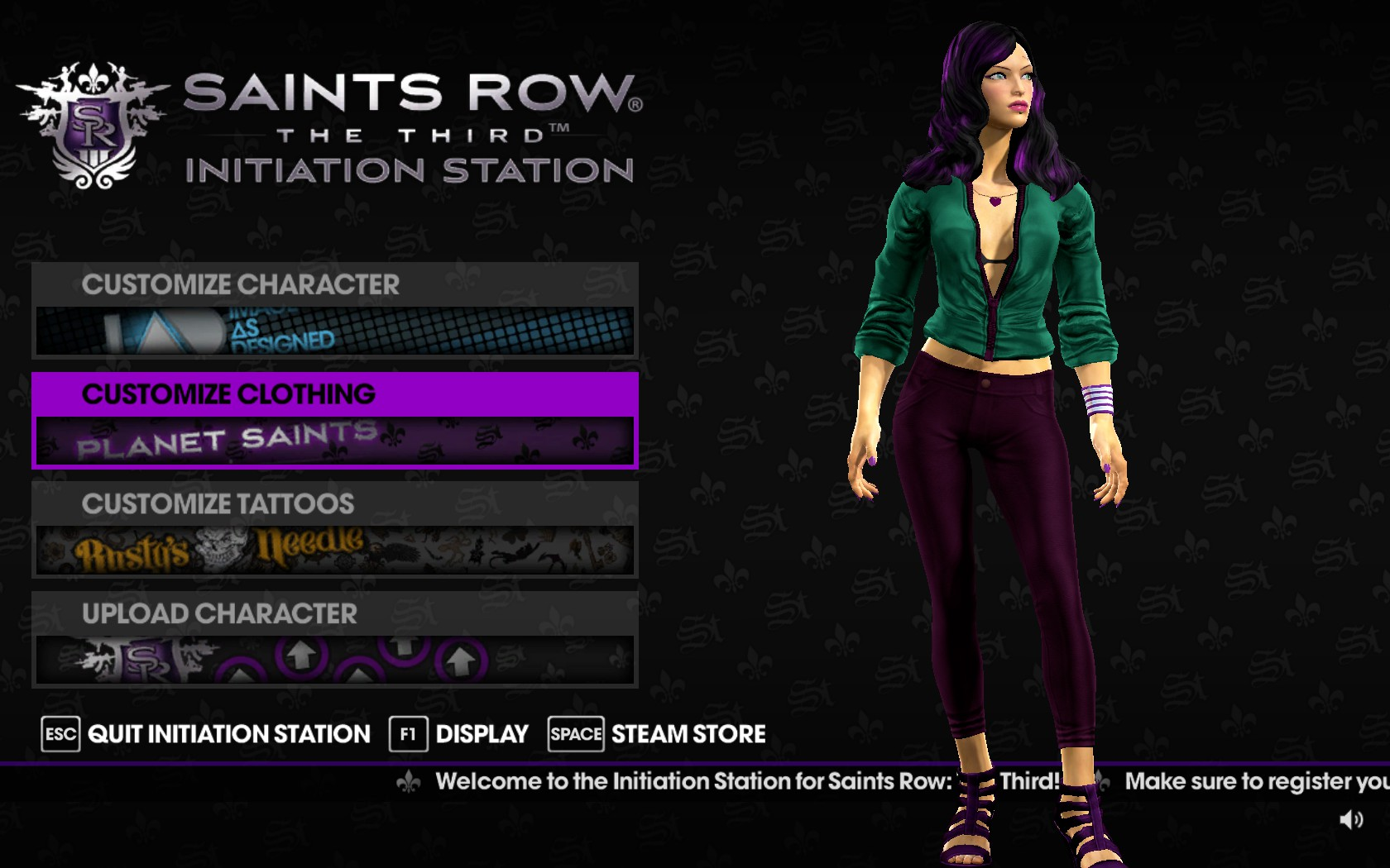 Saints row the third male penis patch porno photo