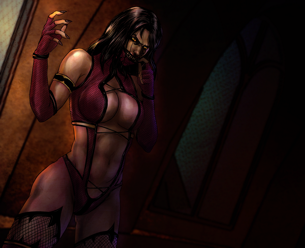 Sexy mortal kombat girls fan art hardcore movies