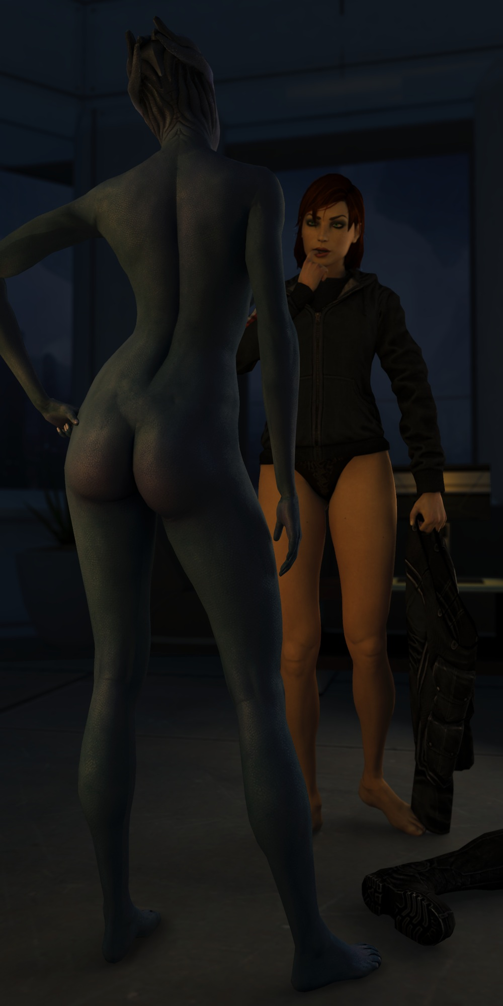 Mass effect liara xxx woman on woman sex images