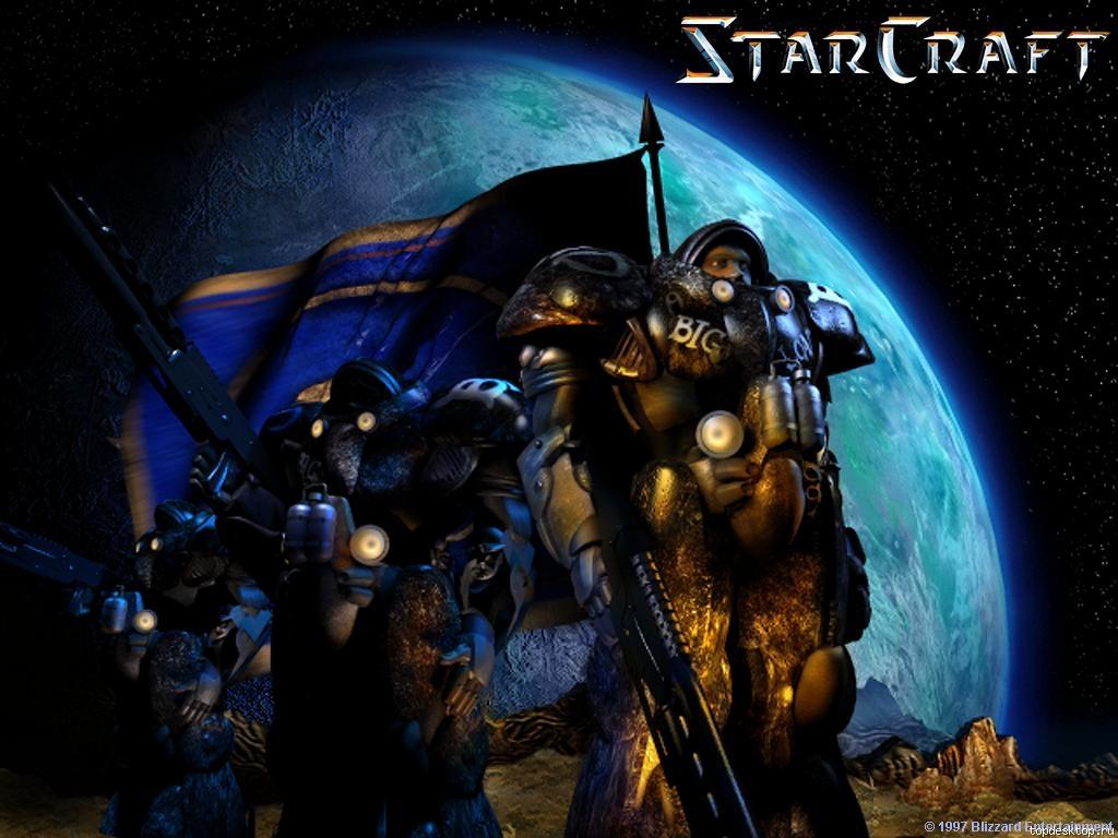 Starcraft space marine wallpaper