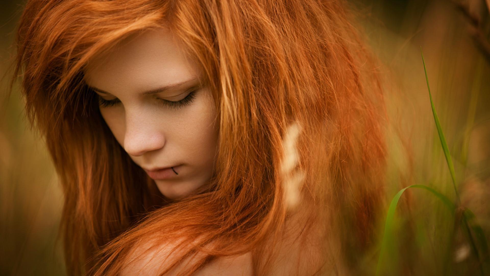 Фотографии рыжих красивых девушек 1 фотография