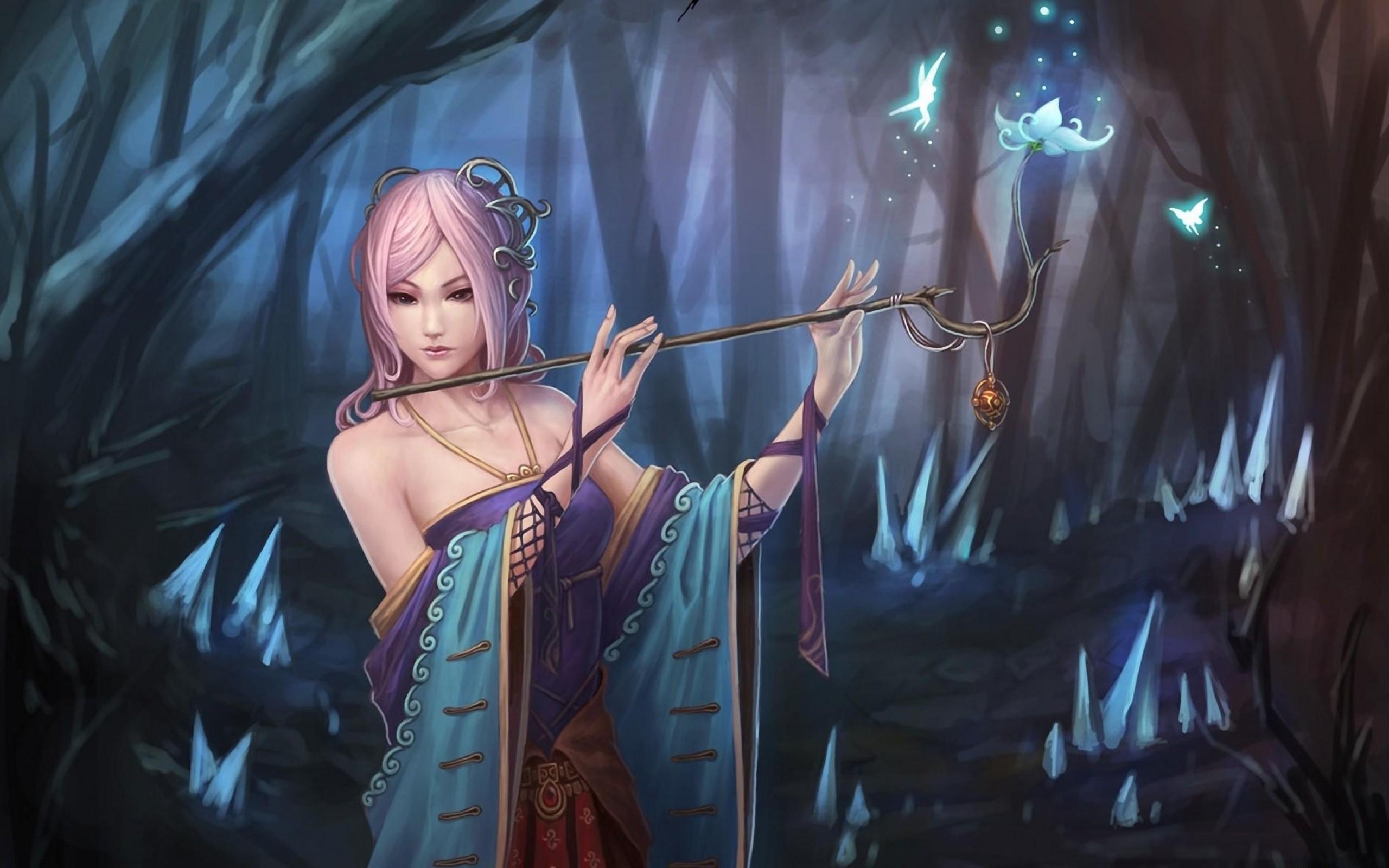 Druid girl hot sexy photo