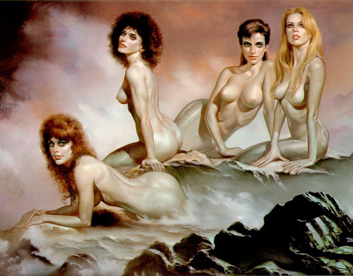 Эротичные морские девы 22 фотография
