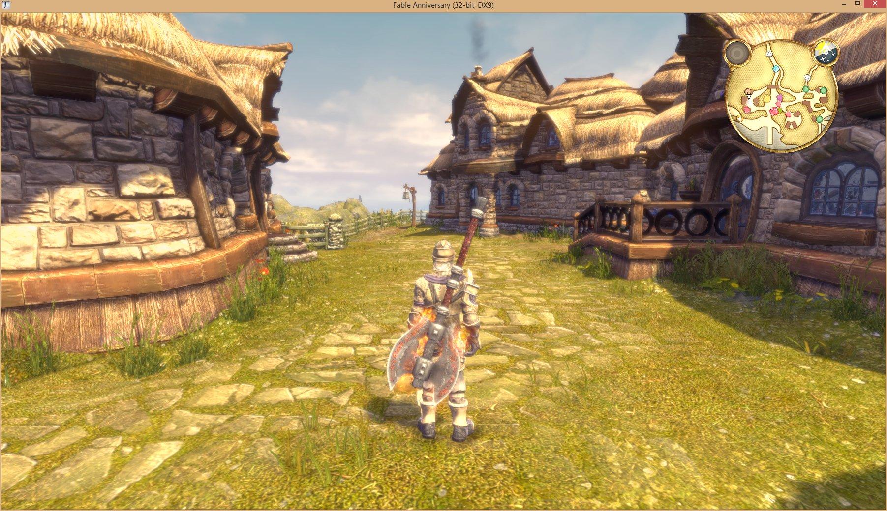 Скриншоты fable 3