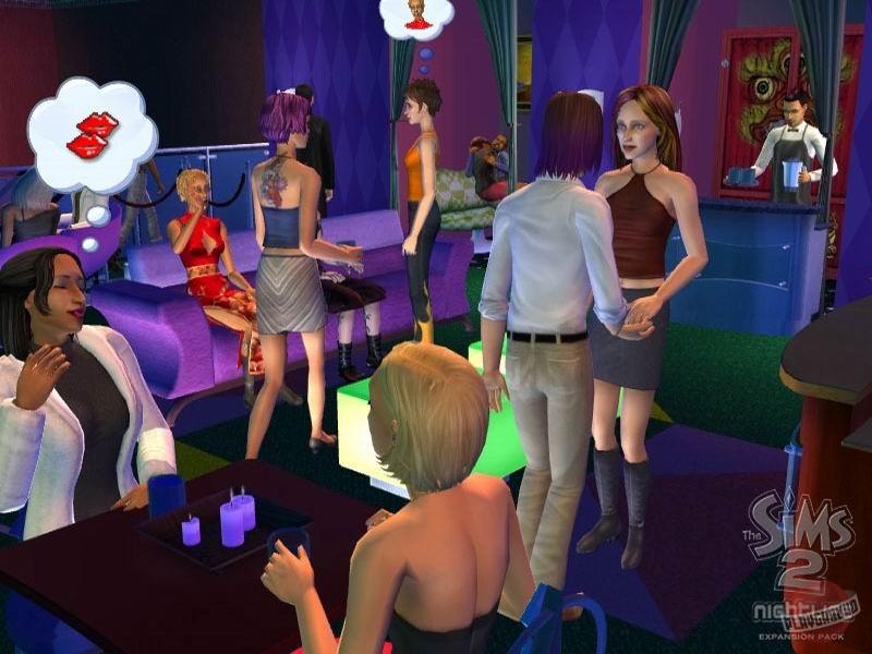 Игру The Sims 2 Ночная Жизнь