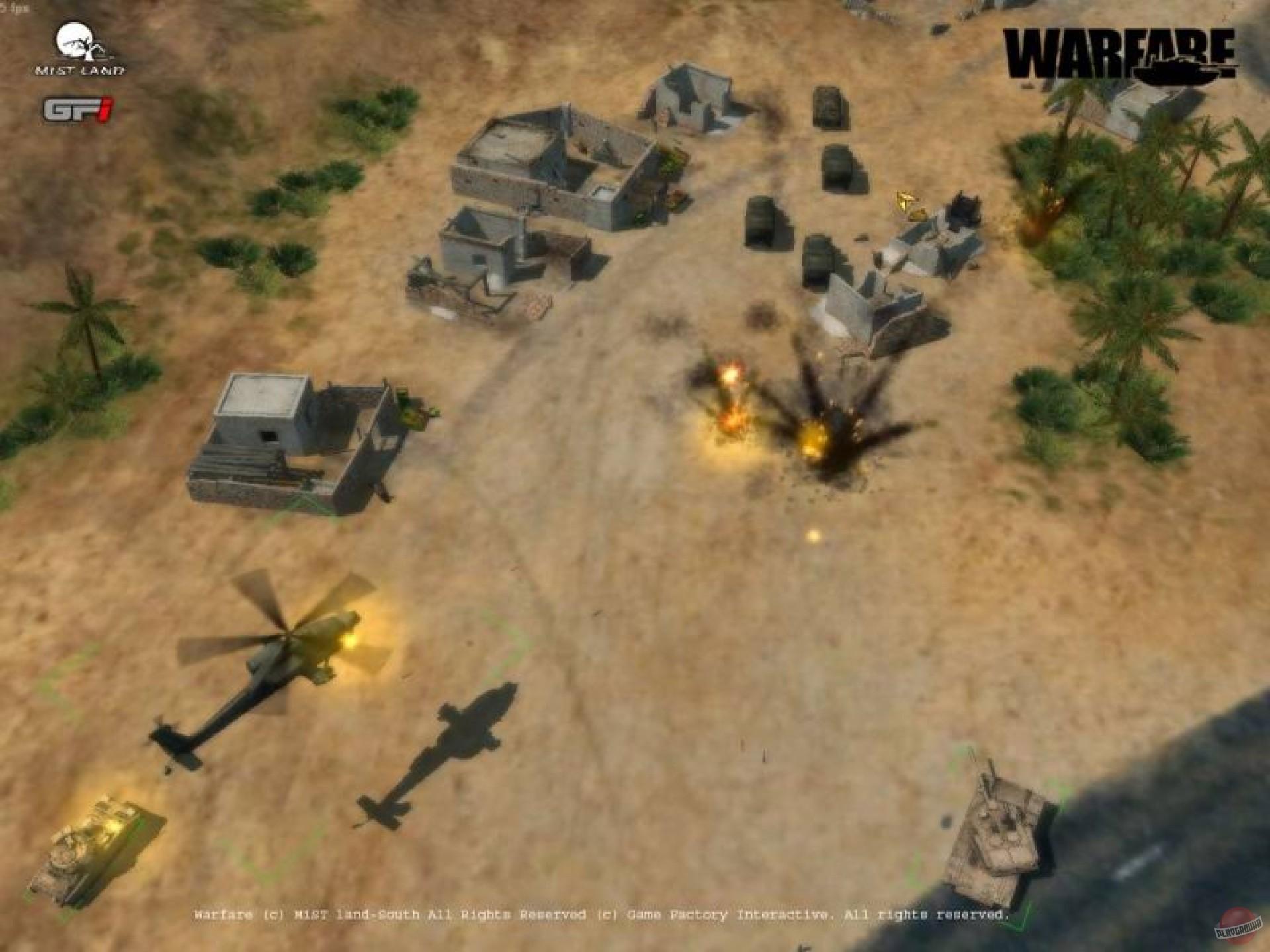 Игры онлайн warfare