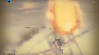 Скриншот Blazing Angels 2: Secret Missions of WWII