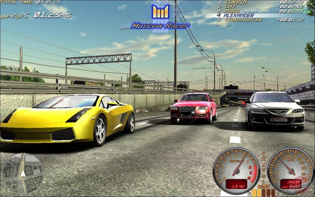 Скриншот из игры Moscow Racer под номером 2. Текущий показываемый скриншот