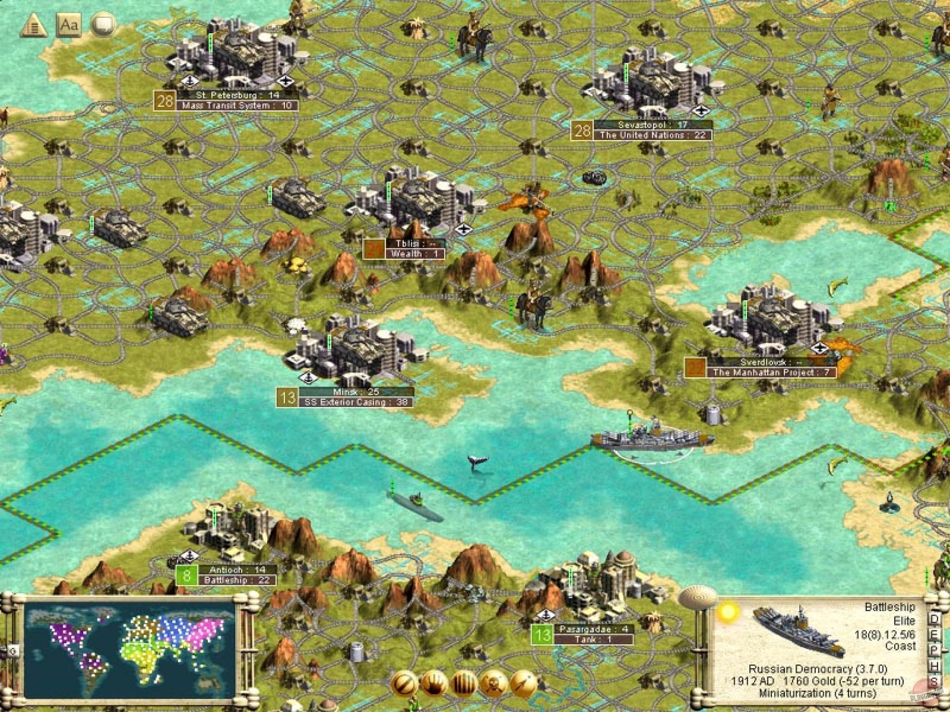 Игра civilization 3 cheats - bb3