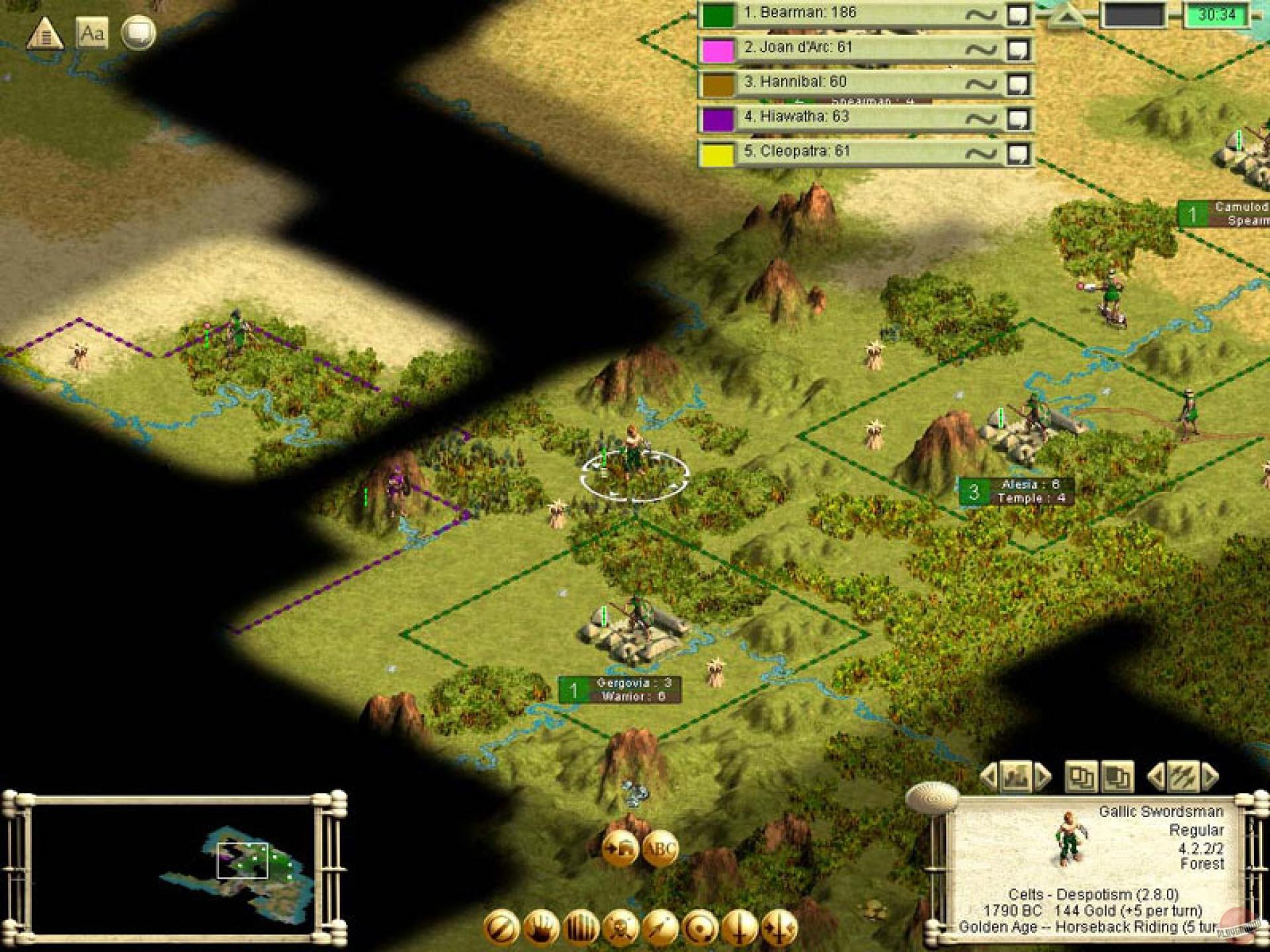 Игра civilization 3 cheats - 9022