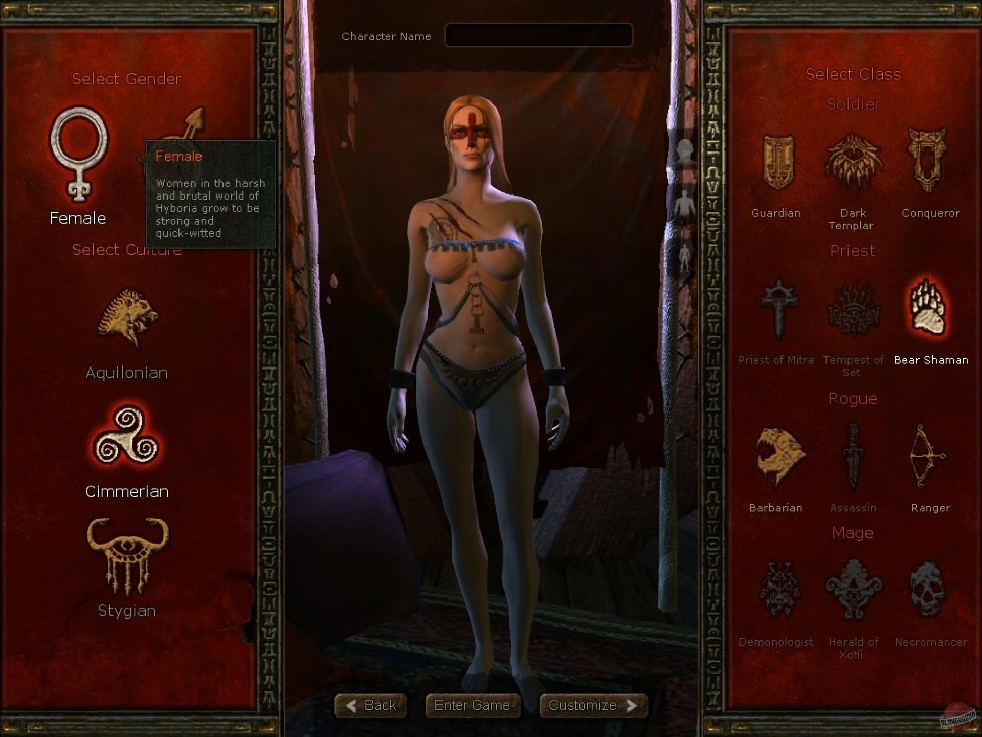 Nude skins for age of conan unchained erotic pictures