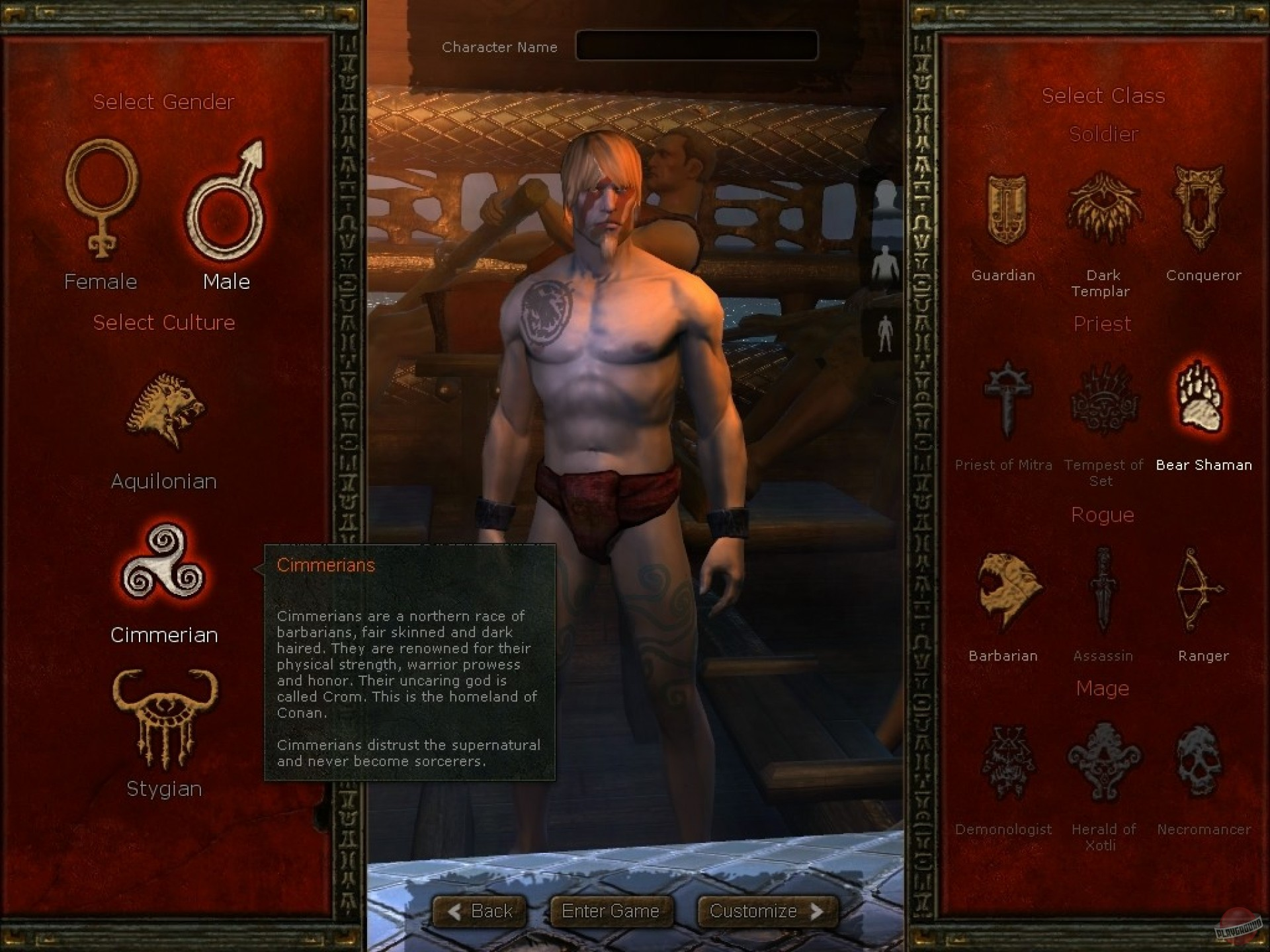 Age of conan unchained nude mod exposed clip