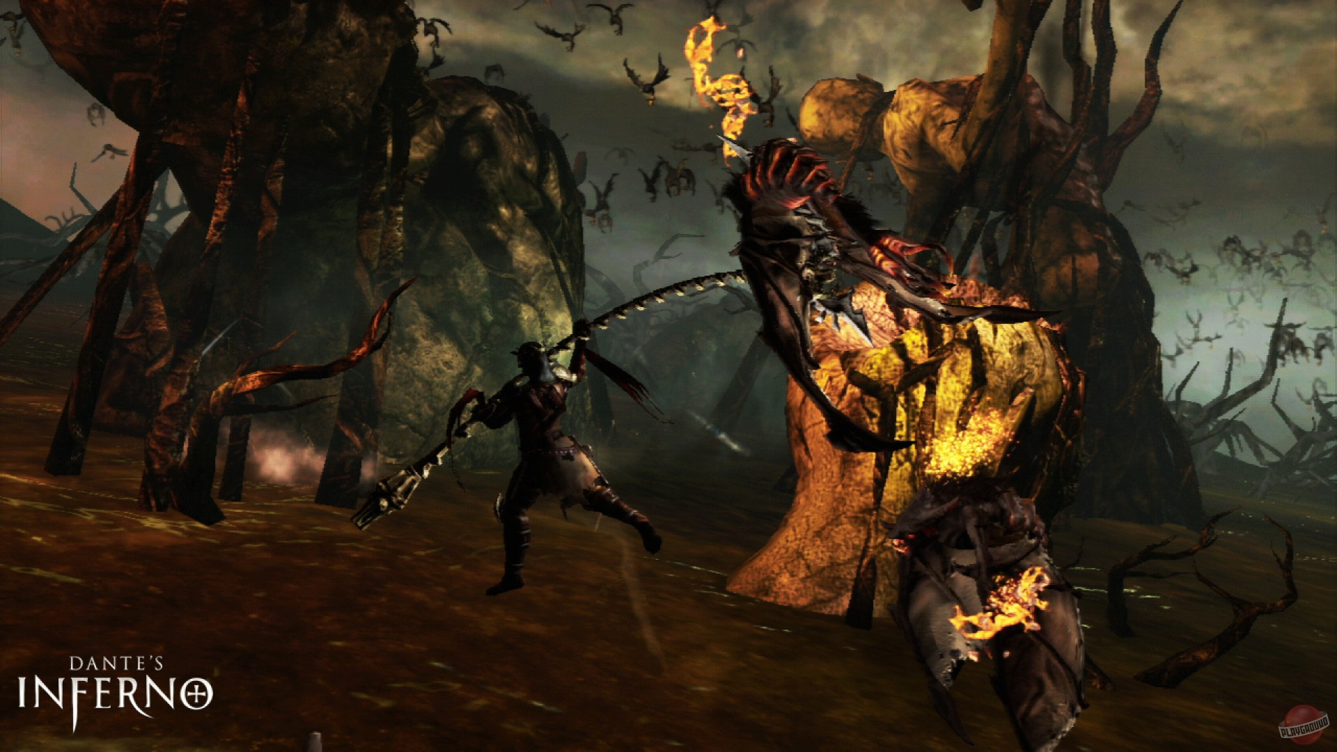 dantes inferno 3 Dante's inferno is an adventure video game with more action developed by visceral games and published by electronic arts for both the xbox 360 and playstation 3 consoles it was also released.
