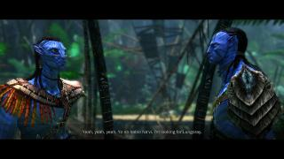 Скриншот James Cameron's Avatar: The Game