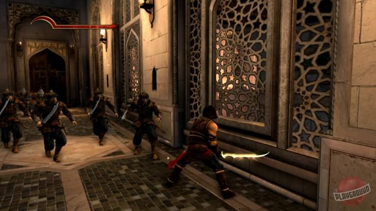 Скриншоты игры Prince of Persia: The Forgotten Sands.