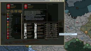 Скриншот Darkest Hour: A Hearts of Iron Game