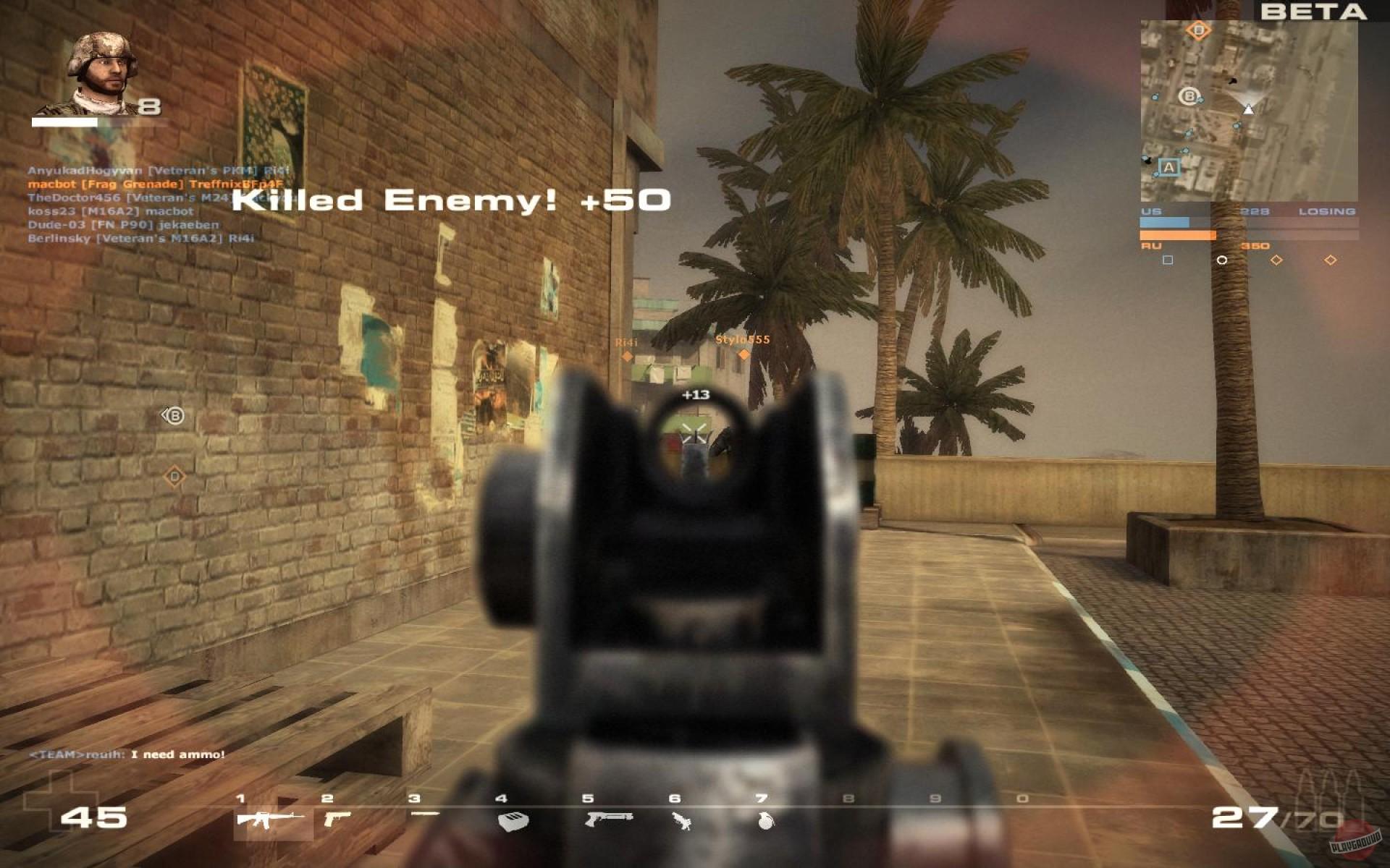 Battlefield как сделать на весь экран 1