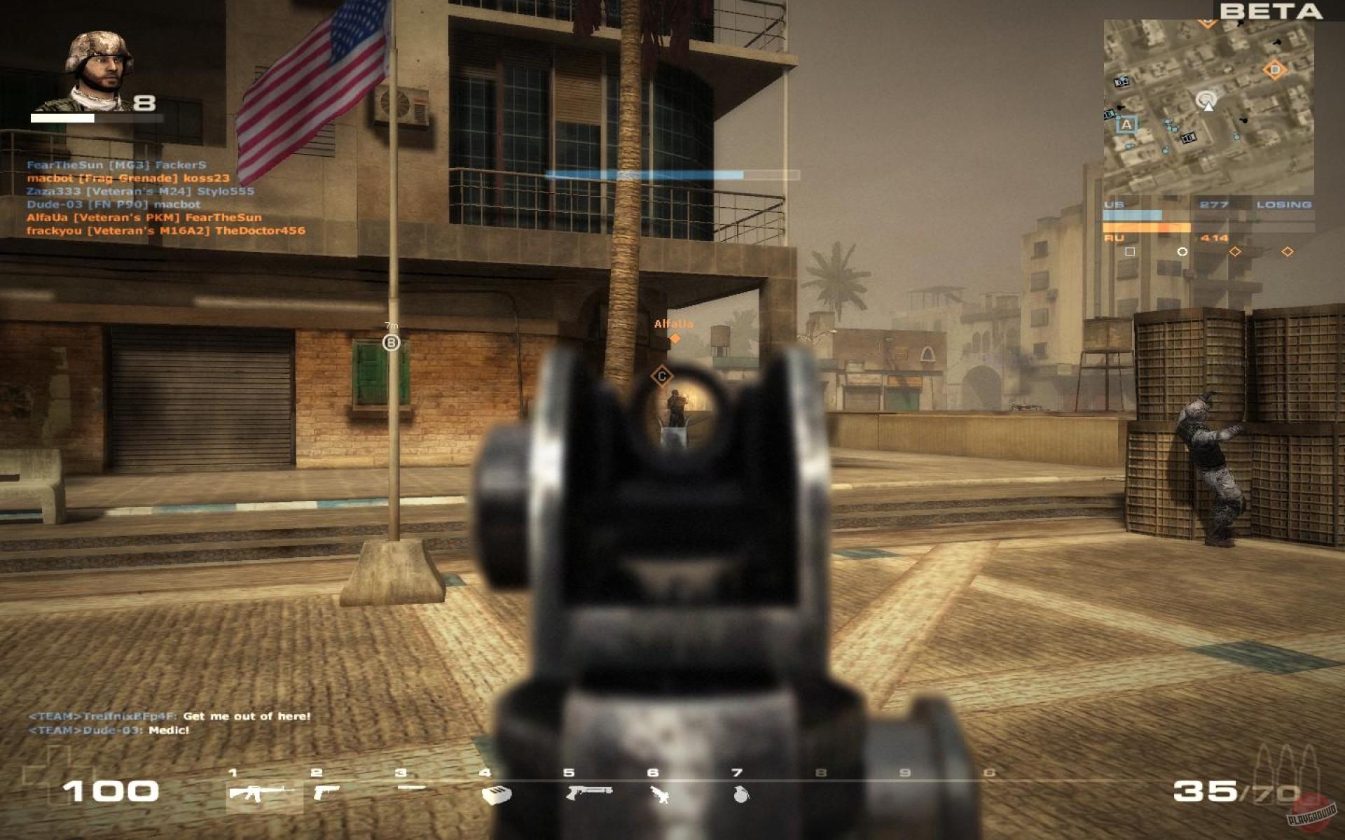 Battlefield как сделать на весь экран 12