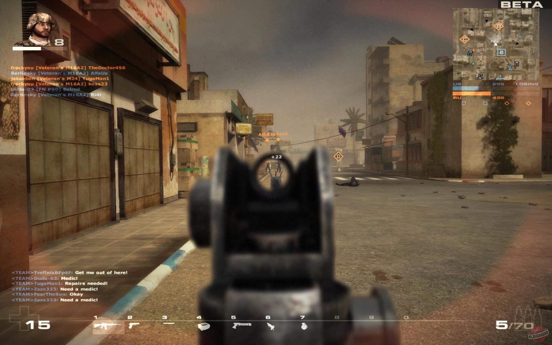Battlefield как сделать на весь экран 116