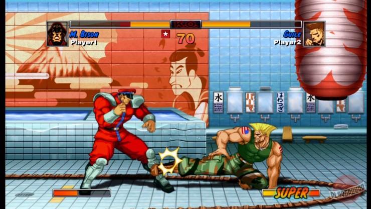Миниатюра скриншота Super Street Fighter 2 Turbo.