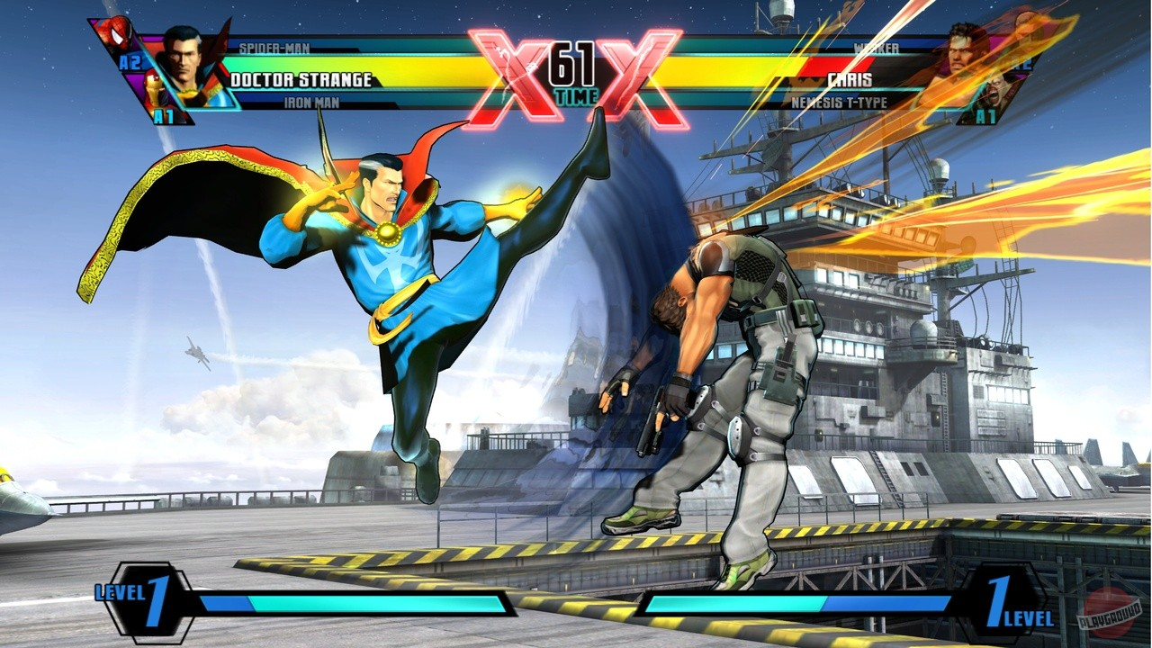Скриншоты ultimate marvel vs capcom 3