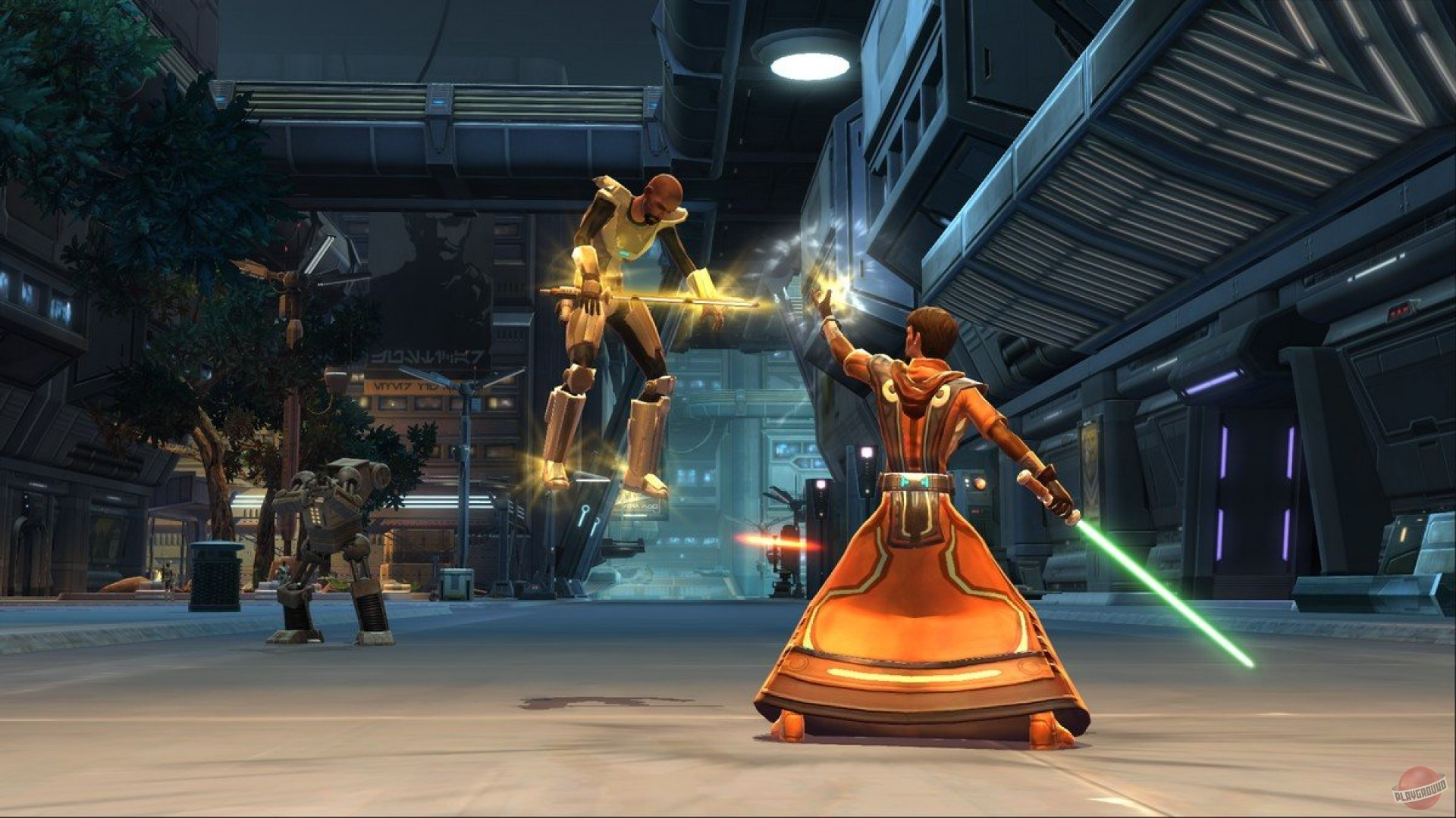 an analysis of the star wars the old republic mass multiplayer online role playing game concept Star wars: the old republic takes place roughly 300 years after the knights of the old republic games and thousands of years prior to the six star wars movies most folks are familiar with in this.