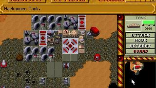 Скриншот Dune 2: The Building of a Dynasty