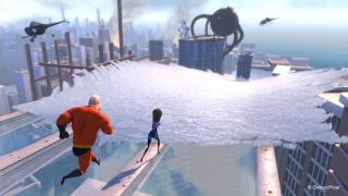 Скриншот Kinect Rush: A Disney-Pixar Adventure
